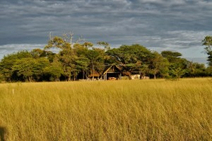 Campement de chasse Namibie