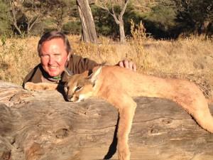 Caracal TLG safari chasse namibie