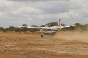 Cesna 208 safari chasse Tanzanie
