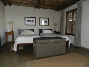 Chambre 2 safari chasse zimbabwe