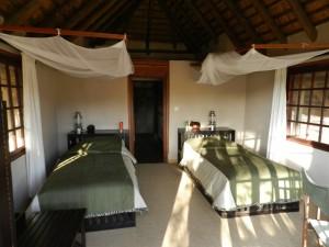 Chambre 3 safari chasse Zimbabwe