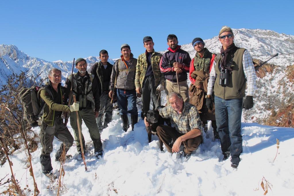 Equipe de chasse Tadjikistan