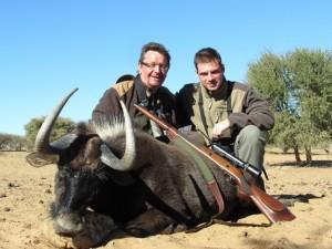Gnou noir 2013 safari chasse namibie