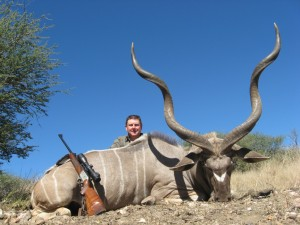 Grand koudou GM safari chasse namibie