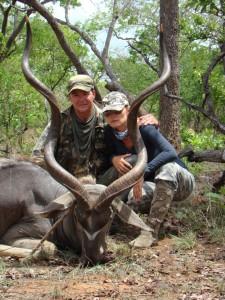 Grand koudou Kilwa safari chasse tanzanie