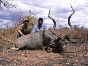 Grand koudou Matt safari chasse tanzanie