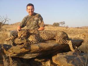 Guépard FM Okatore safari chasse namibie