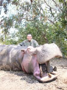 Hippo FM safari chasse tanzanie
