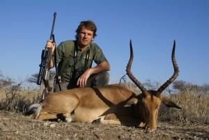 Impala Pierre safari chasse zimbabwe