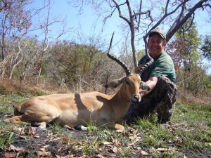 Impala Roger Card safari chasse Tanzanie