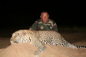 Leopard Bruno safari chasse Zimbabwe