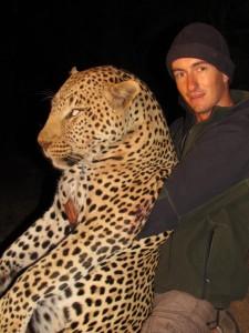 Leopard Olivier safari chasse zimbabwe