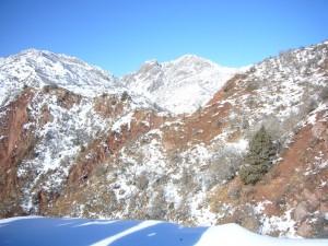 Montagnes du Tadjikistan
