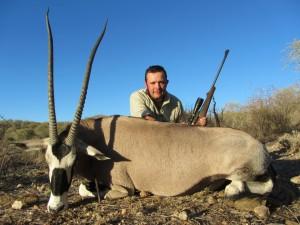 Oryx JB safari chasse Namibie