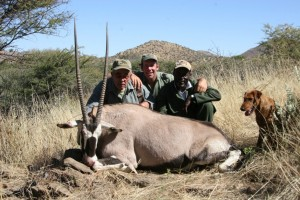 Oryx Jacques safari chasse namibie