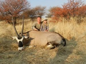 Oryx RH safari chasse namibie