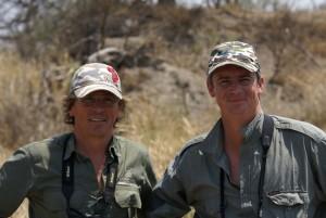 Pierre & Jerome Latrive safari chasse Zimbabwe