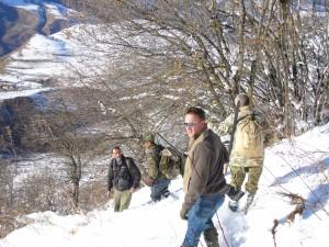 Retour de chasse Tadjikistan