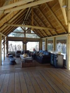 Salon lodge safari chasse namibie