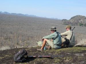 Shaun & Jerome Latrive safari chasse zimbabwe