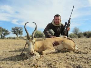 Springbok JB safari chasse namibie