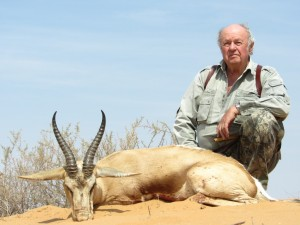 Springbok Kalahari safari chasse namibie