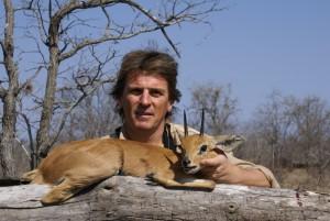 Steenbok Pierre safari chasse zimbabwe