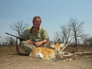 Steenbok Thierry safari chasse zimbabwe