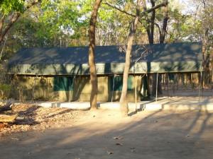 Tente Lugenda campement Mozambique