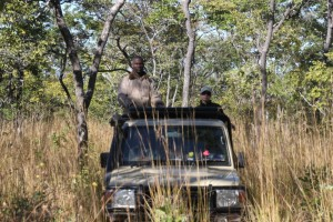 Toyota Land Cruiser safari Mozambique