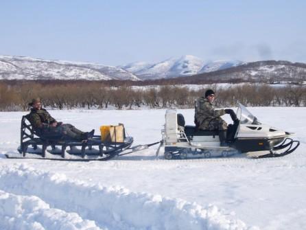 Traineau Kamchatka