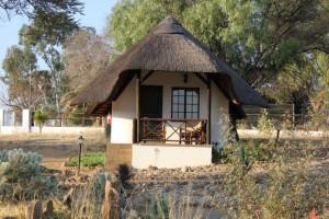 Villa okatore safari chasse namibie