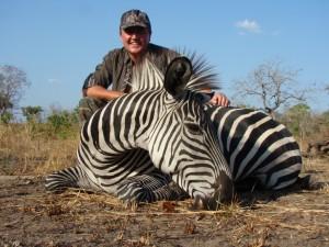 Zèbre Thierry safari chasse tanzanie