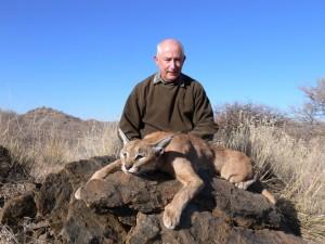 caracal JPB safari chasse namibie