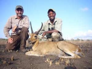 cobe des roseaux michael L BLASER safari chasse tanzanie