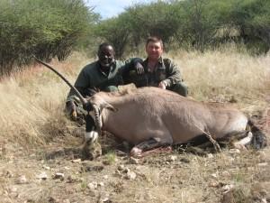 oryx GM safari chasse namibie