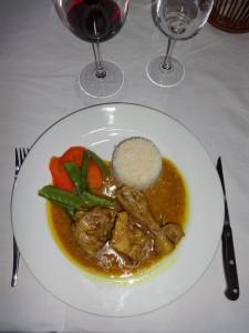 pintade au curry safari chasse namibie