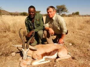 springbok AR safari chasse namibie