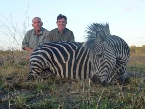 zèbre Michel safari chasse Mozambique