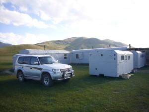 Camp d'Arpa Kirghizstan