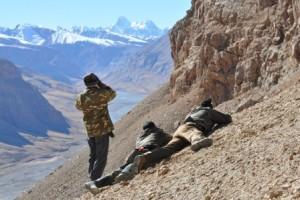 Chasse à l'ibex Kirghizstan