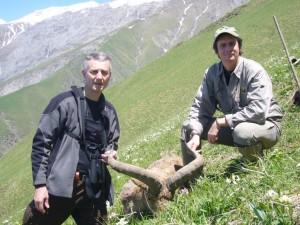 Christian et Jerome LATRIVE Azerbaidjan