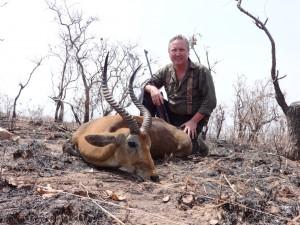 Cobe de Buffon Thierry safari chasse Cameroun