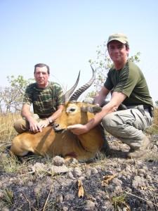 Cobe de Buffon safari chasse DC Cameroun