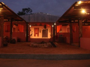 Dining by night Vina safari chasse Cameroun
