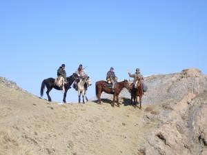 Jean-Pierre et guides Kirghizstan