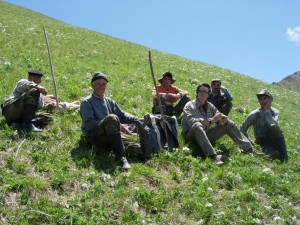 Jerome LATRIVE et guides Azerbaidjan
