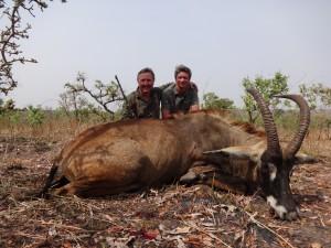 Koba Thierry safari chasse Cameroun
