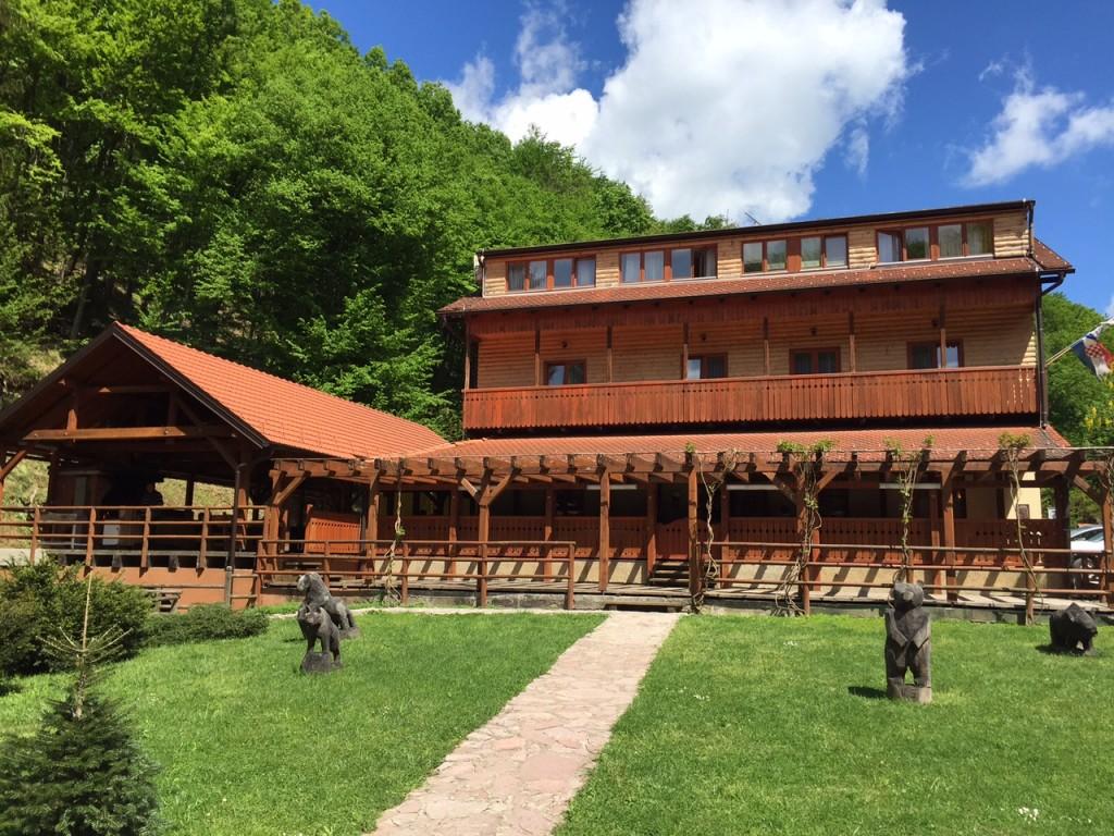 Maison de chasse battue en Croatie