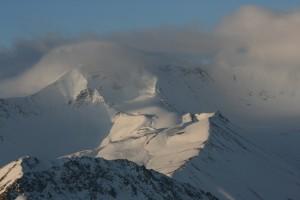 Montagne Kirghizstan Décembre